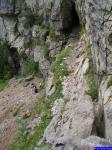13832: Chemin permettant le passage entre le haut et le bas de la première cascade du Guiers-Vif. C'est type via ferrata, à éviter en cas de vertige..