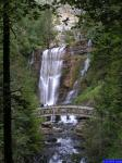 13869: La deuxième cascade du Guiers-Vif et le pont.
