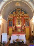 Madone de Fenestre: Dans la chapelle de la Madone de Fenestre.