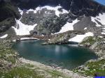 Lacs di Valscura: Le lac où j'ai pris mon bain