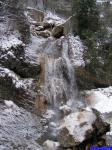 PICT0648: La cascade sortant du canyon des Ecouges photographiée depuis le Pont de la Cascade.