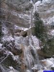 PICT0659: La cascade sortant du canyon des Ecouges photographiée depuis le Pont de la Cascade.